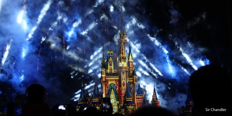 Momentos del nuevo cierre de Magic Kingdom