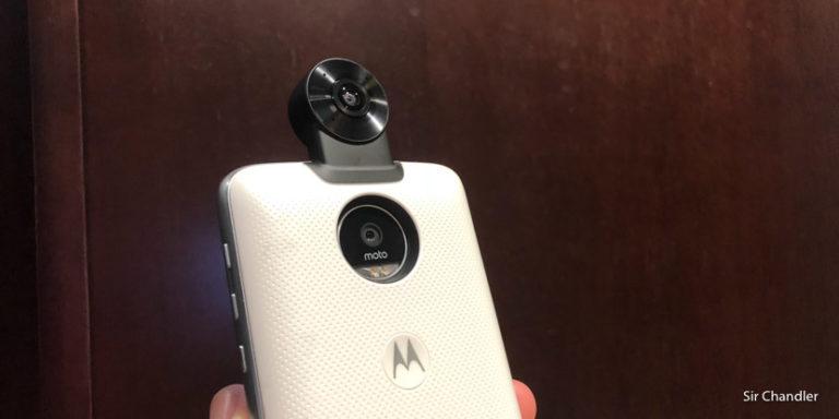 Pruebas de video y fotos 360 con un Moto Z por Nueva York