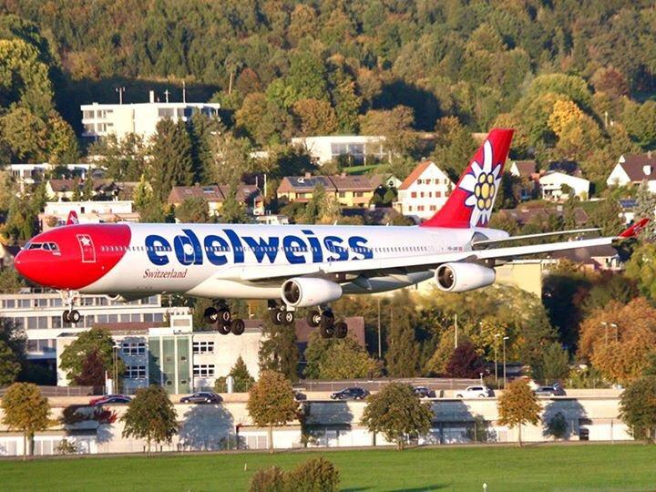 Edelweiss (de Lufthansa) volará a Zurich desde Buenos Aires