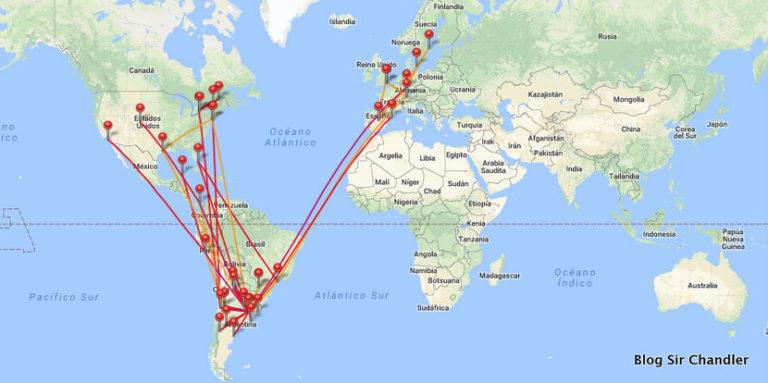 Resumen 2017: 76 aviones y 249.000 kilómetros volados