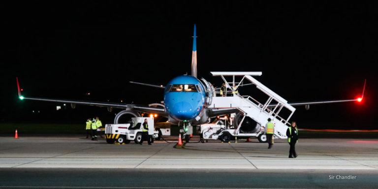 Vuelo desde Punta del Este en un Embraer de Austral