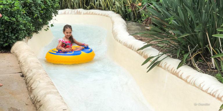 El parque acuático Typhoon lagoon de Disney en Orlando