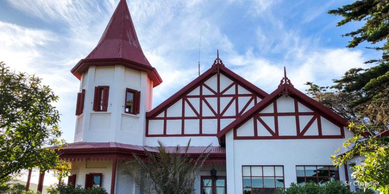 El hotel de campo El pedral, cerca de Puerto Madryn