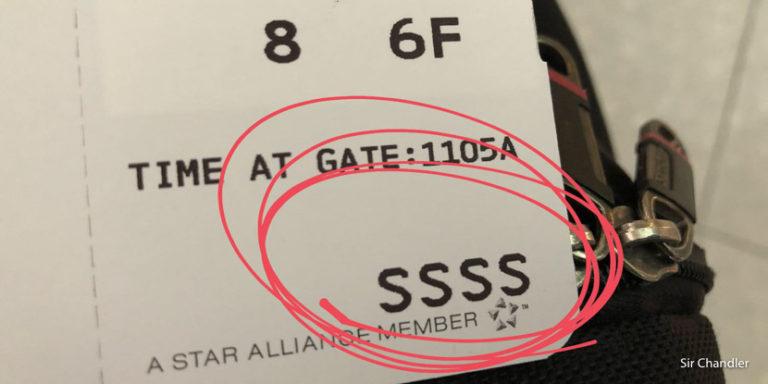 Me tocaron las SSSS en el boarding… y sobreviví para contarlo! :P
