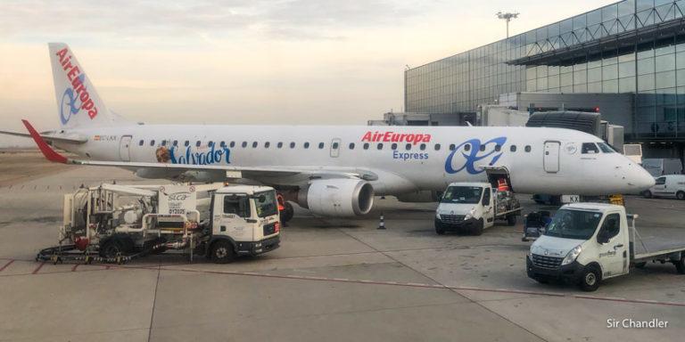 Vuelo entre Madrid y Lisboa con Air Europa