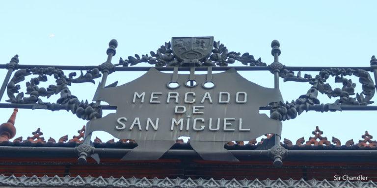 El mercado de San Miguel en Madrid