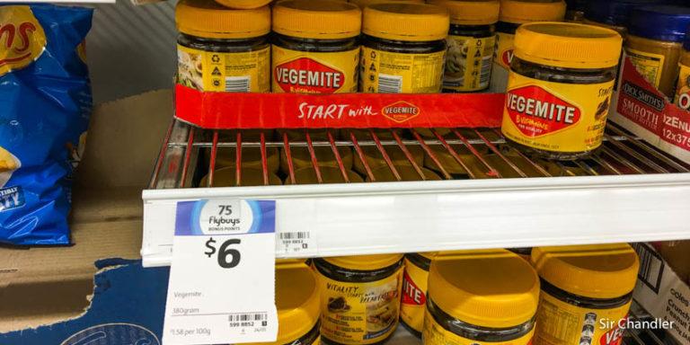 Recorrida por un supermercado australiano