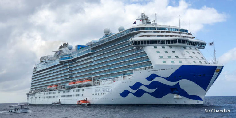 Un día de navegación en el Caribe con el crucero de Princess