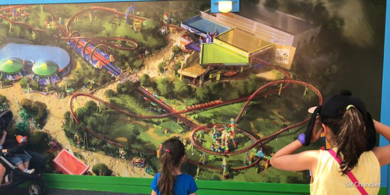La montaña rusa de Toy Story que abrirá en los próximos meses en Orlando