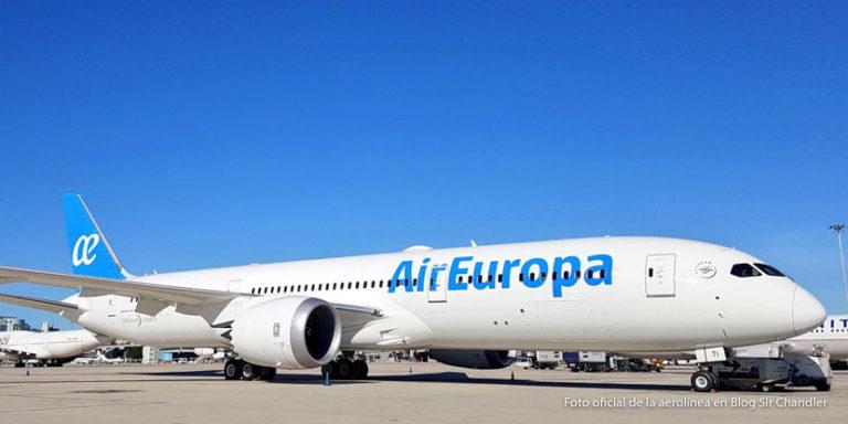 Air Europa mete el Boeing 787-8 a Córdoba e Iguazú desde noviembre (y el 787-9 desde abril 2020)