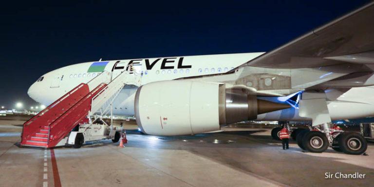 Level mete 2 vuelos a Santiago de Chile y mantiene 8 a Buenos Aires