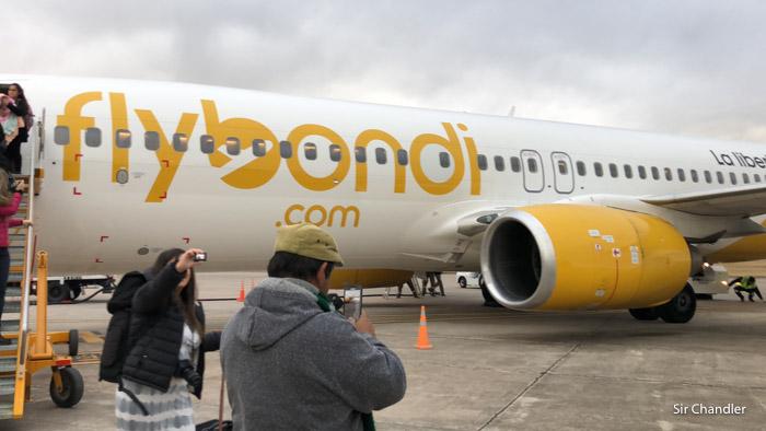 Flybondi mandó mail previo a las promociones de tarifas hablando de su actualidad
