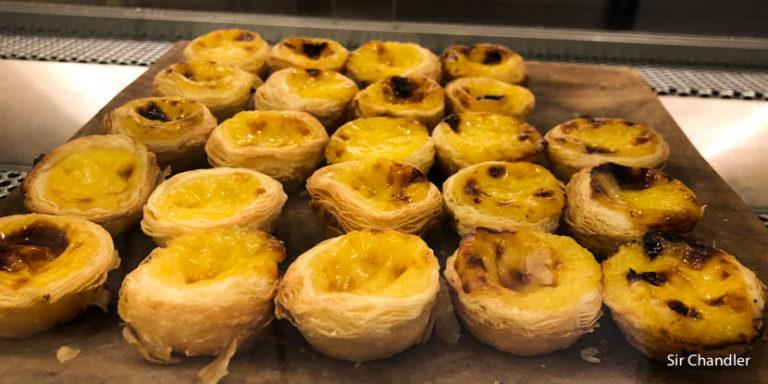 Los pasteles de nata portugueses en un localcito porteño