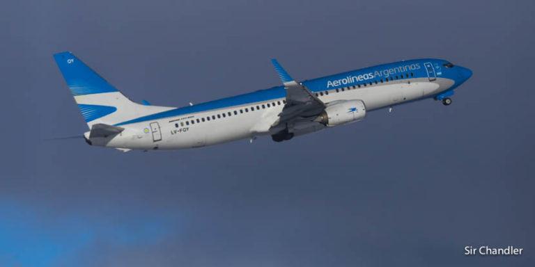 Los 737-800 de Aerolíneas tendrán unas filas diferenciadas cuando saquen Club Economy