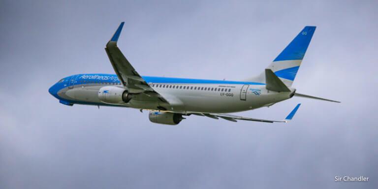 Suena raro para el contexto actual pero Aerolineas Argentinas tuvo récord de pasajeros en cabotaje