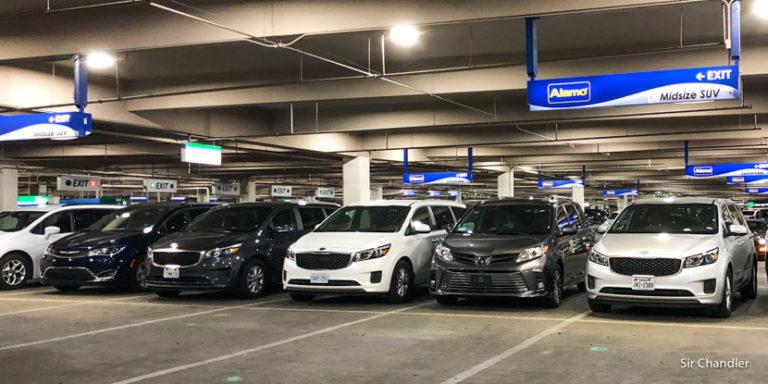 El miedo a alquilar auto grande en Estados Unidos