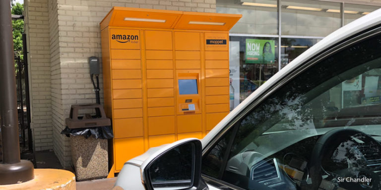 Si las compras llegan antes de lo previsto al Amazon locker… ¿qué pasa?