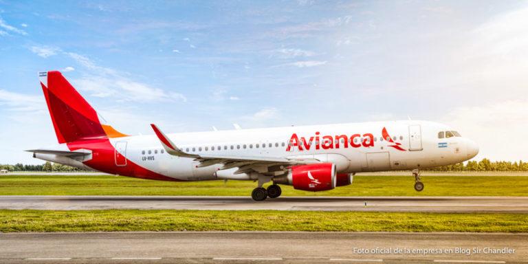 Hoy llega el primer Airbus 320 de Avianca Argentina