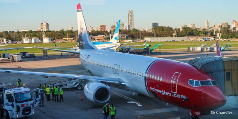 Los primeros cuatro vuelos de Norwegian Argentina – crónicas