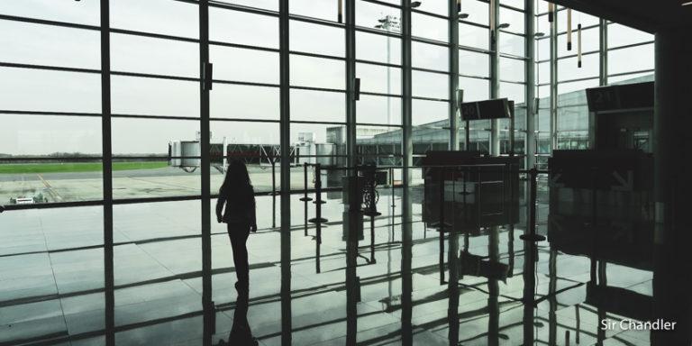 Londres y Santiago de Chile en los extremos de la variación de pasajeros