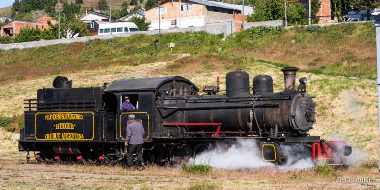 Un viaje en La trochita, el famoso tren a vapor de Esquel
