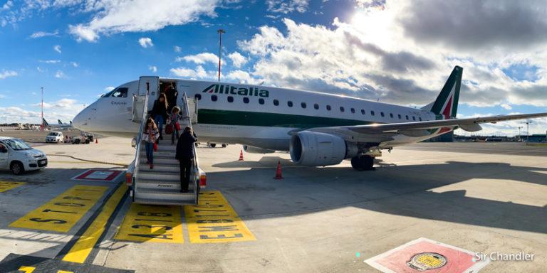Vuelo Ginebra – Roma con Alitalia