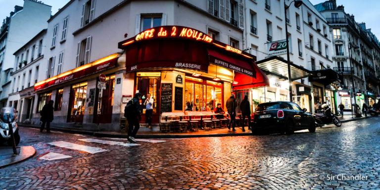 Postales de una fría París (capítulo cámara)