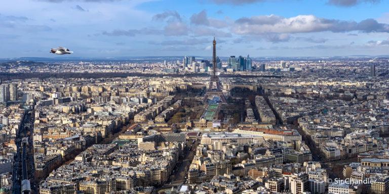 Postales de una fría París (capítulo celular)