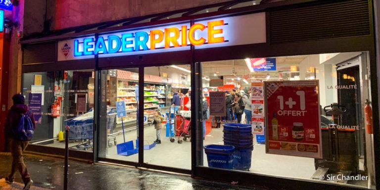 Supermercado en París ¿Precios?
