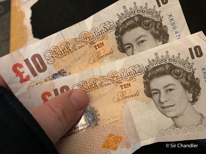 20 libras a pesos argentinos