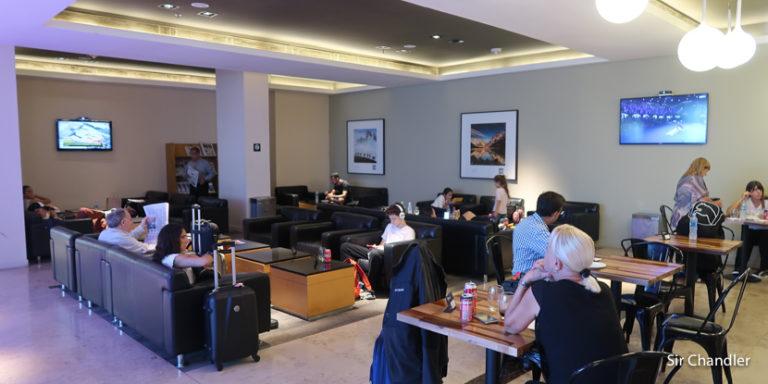 Salón VIP de AA2000 en Aeroparque