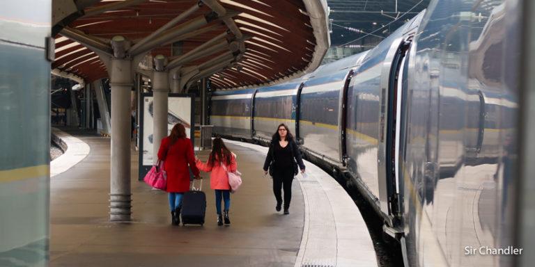 El Eurostar como ejemplo de cuando conviene tomar trenes en Europa