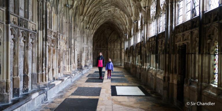 Una catedral potteriana, la de Gloucester