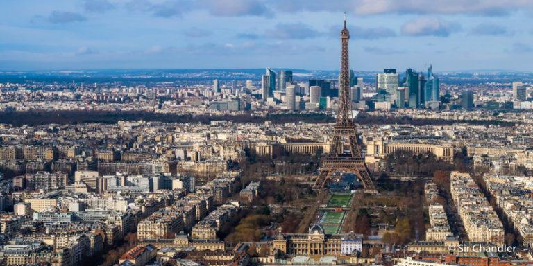Subir a la torre Montparnasse y tener las mejores vistas de París