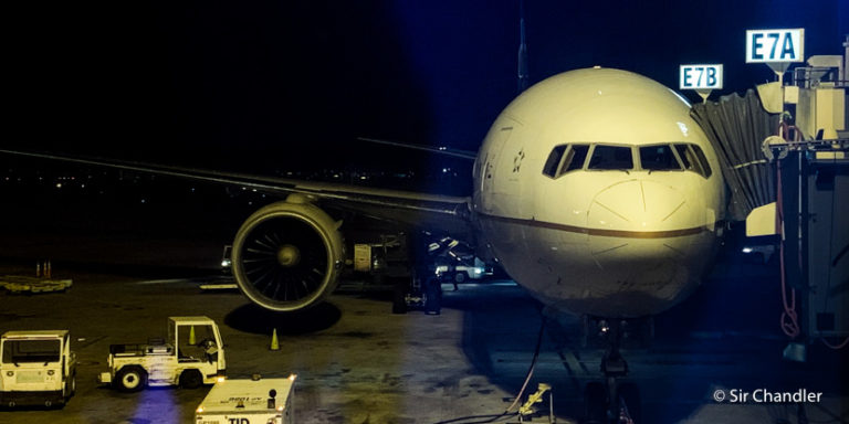 Vuelo a Houston en un Boeing 777 de United – Clase Polaris