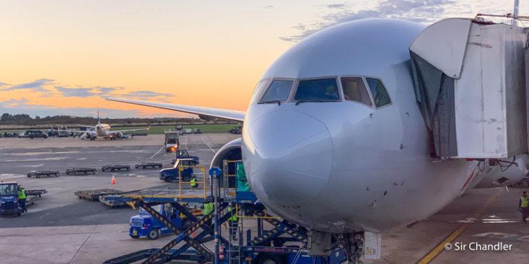 Dallas – Buenos Aires en vuelo de directo de American Airlines (economy)