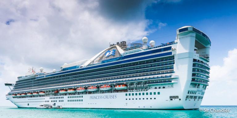 Visita a la cocina de un crucero por el Caribe