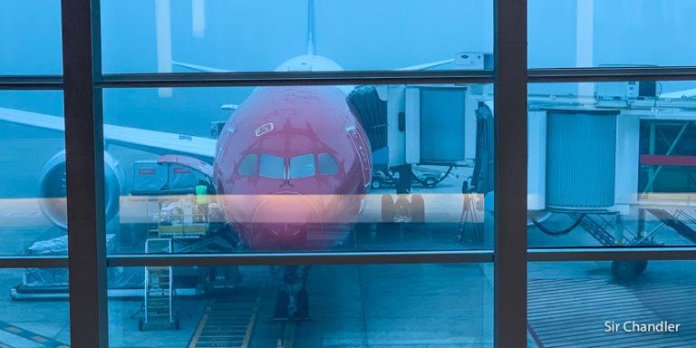 Volviendo de Londres con Norwegian en el Boeing 787