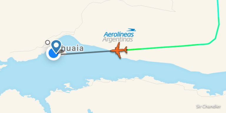 Ushuaia – Aeroparque con Aerolíneas Argentinas