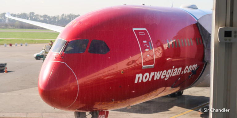 Crónica de vuelo de Norwegian a Londres en un Boeing 787