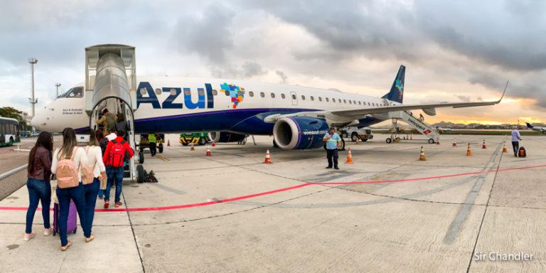 El nuevo embarque con alfombra digital de AZUL