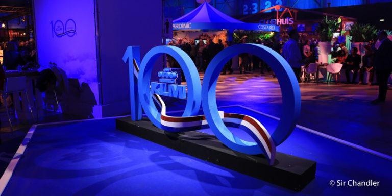 El festejo de KLM por sus 100 años