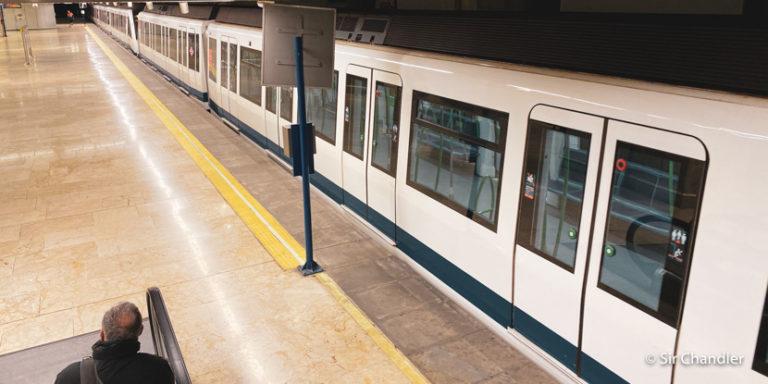 Aeropuerto de Madrid ¿Cómo salir o llegar con el metro?