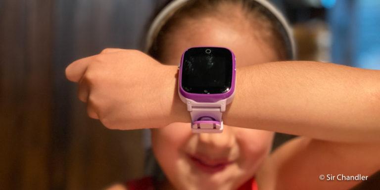El reloj con chip, gps y mensajes de voz que compré para mi hija menor