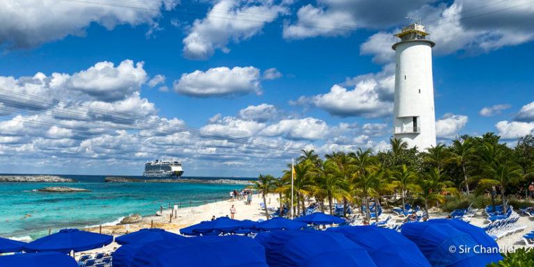 La isla privada de los cruceros de Norwegian en Bahamas