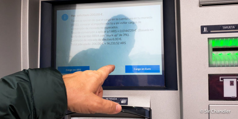 Logrando sacar euros de la ATM en España – capitulo II