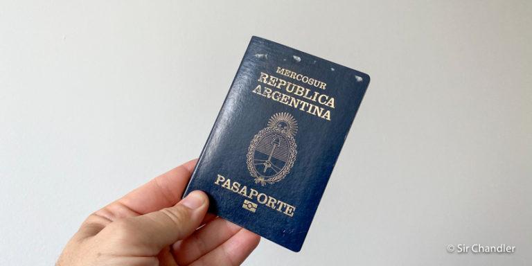 ¿Cuanto espacio libre necesito en el pasaporte para viajar?