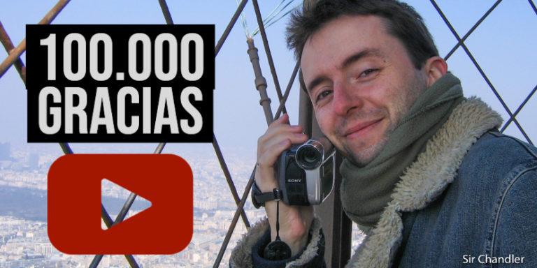 Mis primeros 100.000 suscriptores alcanzados en Youtube y algunos datos