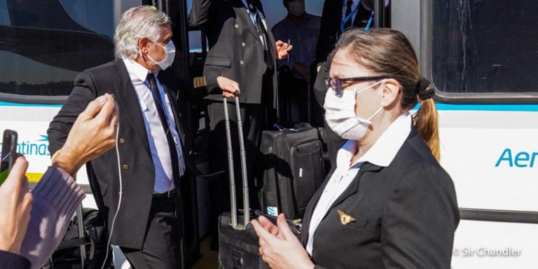 Entrevista con dos pilotos de los vuelos a China