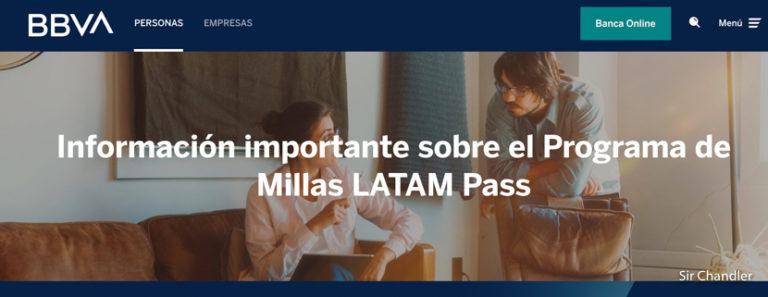 BBVA confirma la continuidad de la alianza con LatamPass